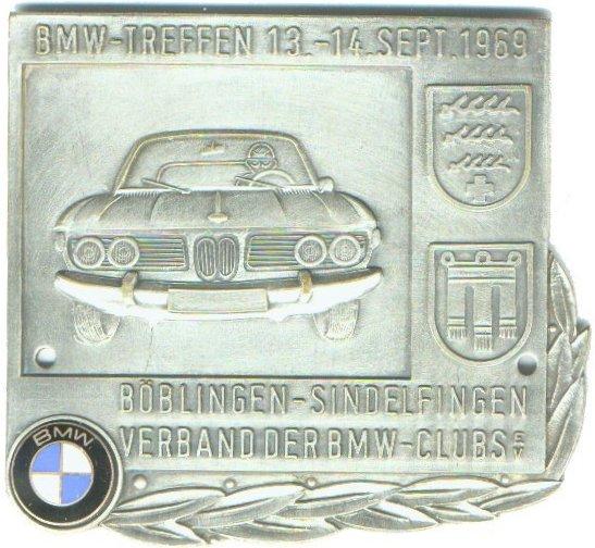 Authentic German Car Badges BMW Corner